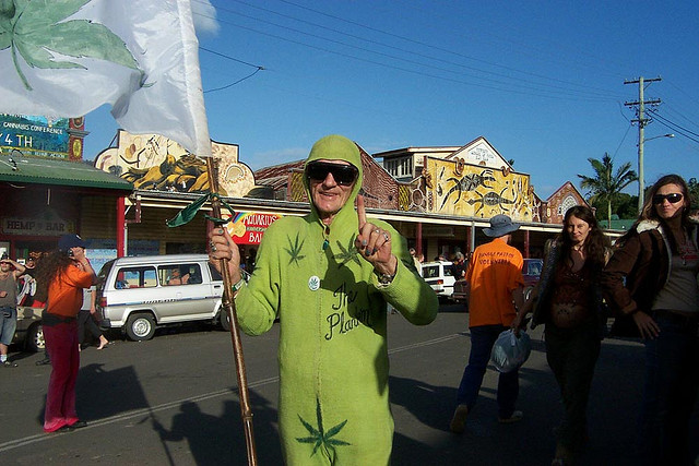 Some kooky characters can be found in Nimbin (Photographer: Sydney Wired; Flickr)