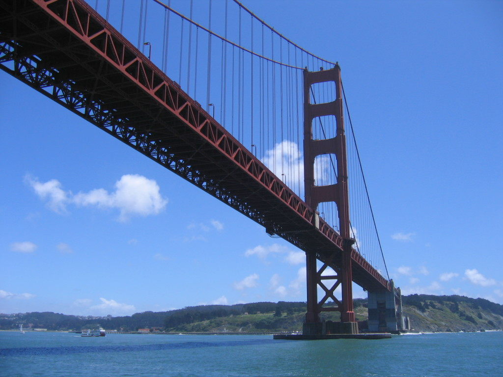 Golden Gate Bridge- source Wikimedia