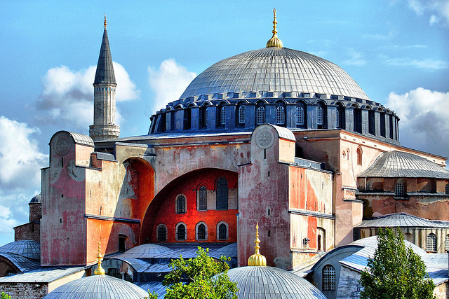 Hagia Sophia. The Site of Many Different Prayers.