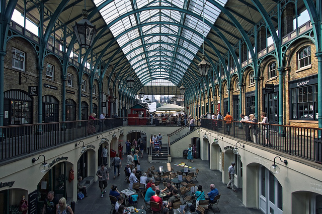 Covent Garden, London (Photograoher: Michiel Jelijs; Flickr)
