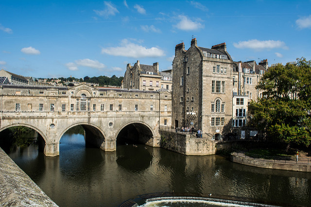 Bath, the setting for Jane Austen's 'Persuasion'. (Photographer: erikccooper; Flickr)
