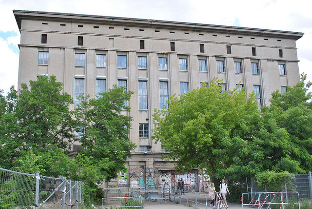 Berghain, so exclusive that the owner himself decides who comes in and who doesn't. (Photographer: Oh-Berlin.com; Flickr)
