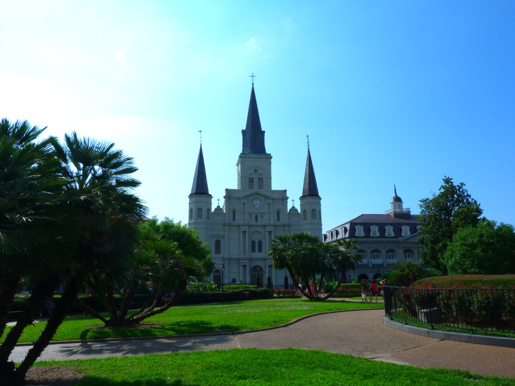 Jackson Square and its fairytale castle © Alexandra Leyland-Collins
