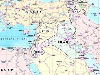 Middle East map by Flikr user: openDemocracy