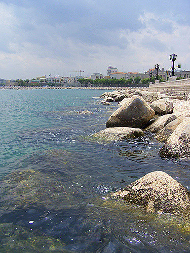 Bari is the capital of the Puglia region and is also a port city, so if you're in that part of the world there's a high chance you'll end up seeing it! (Photographer: Mike Sowden; Flickr)