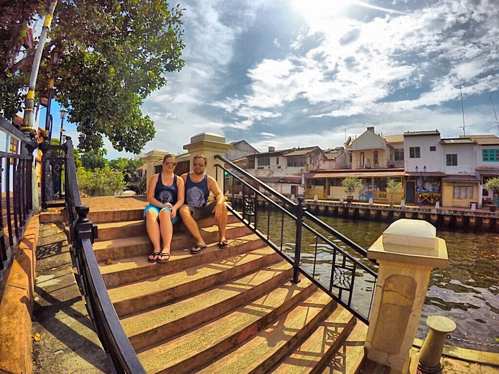 Karolina and Patryk in Malacca